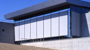 Architecture textile batiment